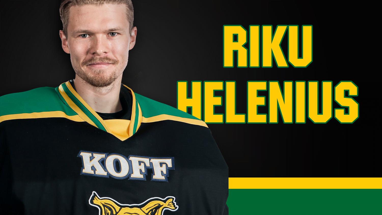 Riku Helenius Ilveksen maalin suulle • Tampereen Ilves