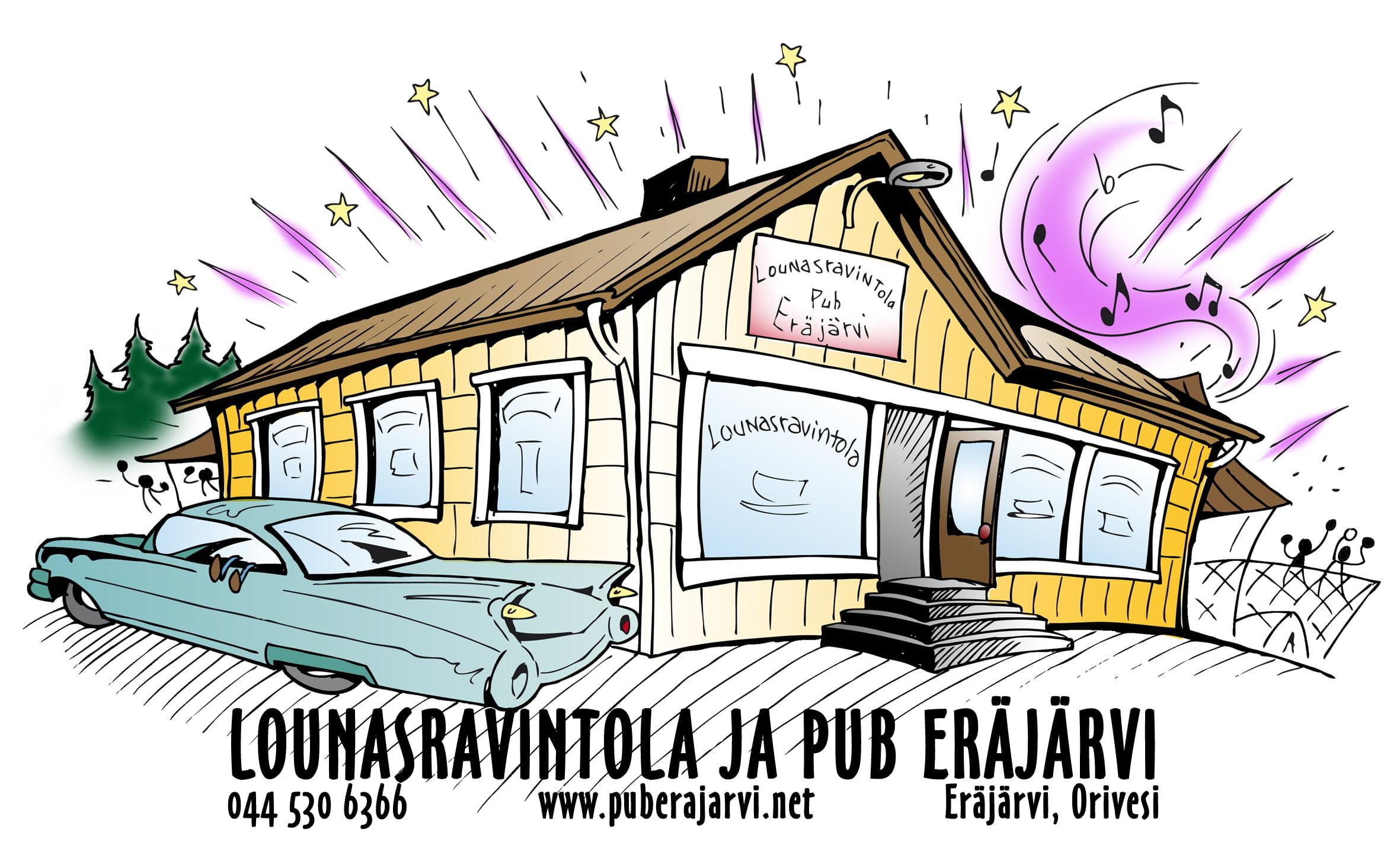 Ilves-Verkosto - Lounasravintola ja Pub Eräjärvi